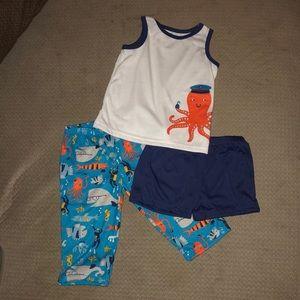 3 piece Carters PJ Set size 18 months